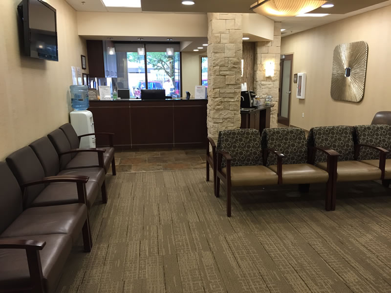 Pacific Surgery Center Lobby